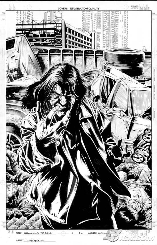 LE FLEAU, en BD, par Marvel Stand-4