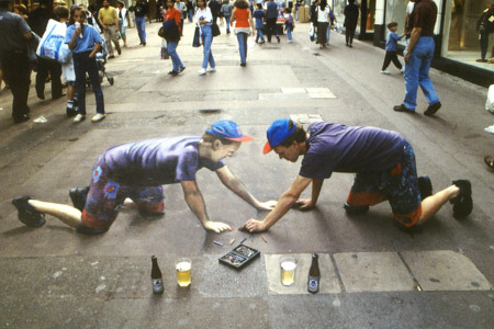 The Anamorphic Art Of Julian Beever |