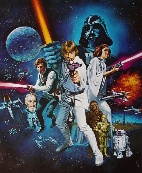 Star Wars: The Stage Play (1/6)
