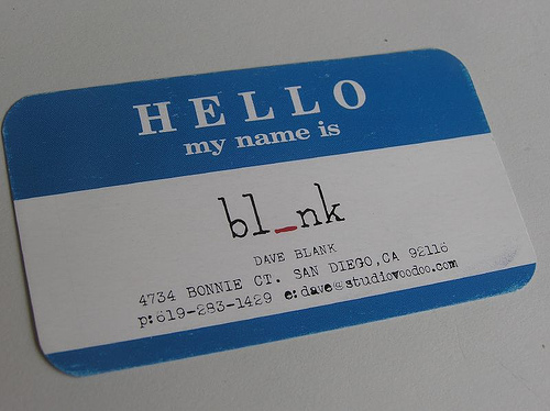 Clever Business Cards Part III