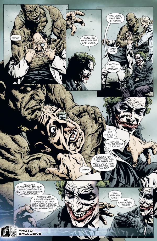 A Sneak Peak At Dc Comics Joker