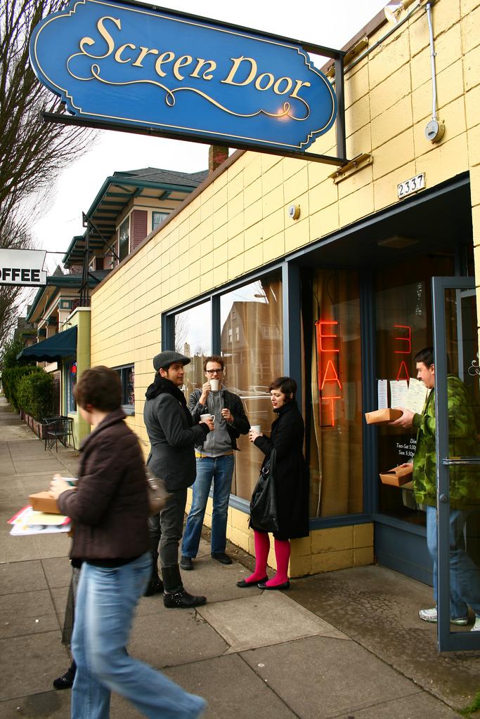 The Best Breakfast In Portland, Oregon. Screen Door Exterior