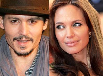 Jhonny Depp e Angiolina Jolie