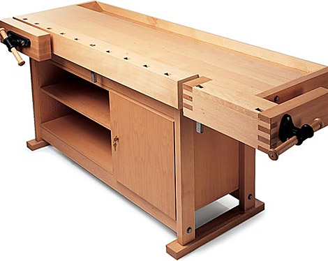 plan for building a woodworking bench vise