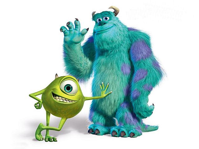pixar characters wallpaper. Pixar Confirms Monsters Inc