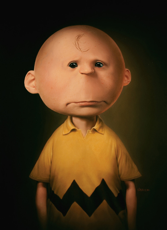 What if cartoons were real? Charlie-brown
