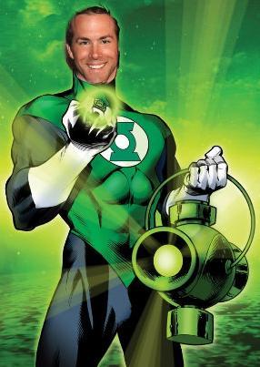 Ryan Reynolds Green Lantern on Ryan Reynolds Is The Green Lantern    Ryan Reynolds Green Lantern