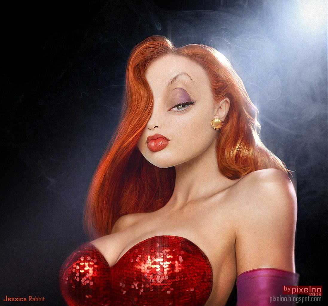 What if cartoons were real? Untooned_jessicarabbit