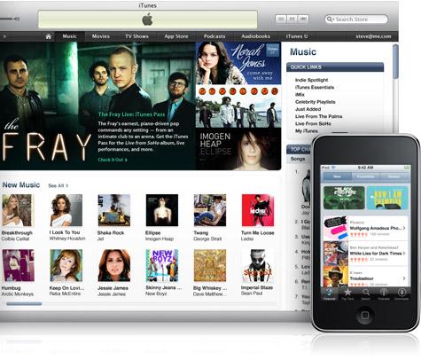 �������� �������� ��������� iTunes