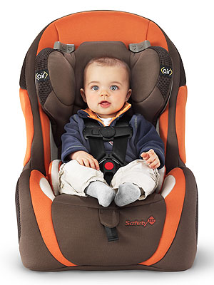 The Safety 1st Complete Air Convertible Car Seat
