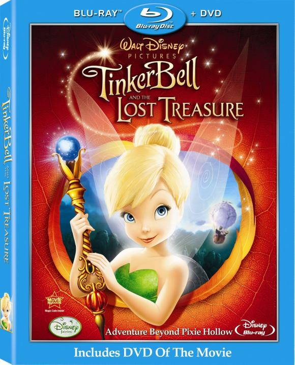 TinkerBellandTheLostTreasureBluray