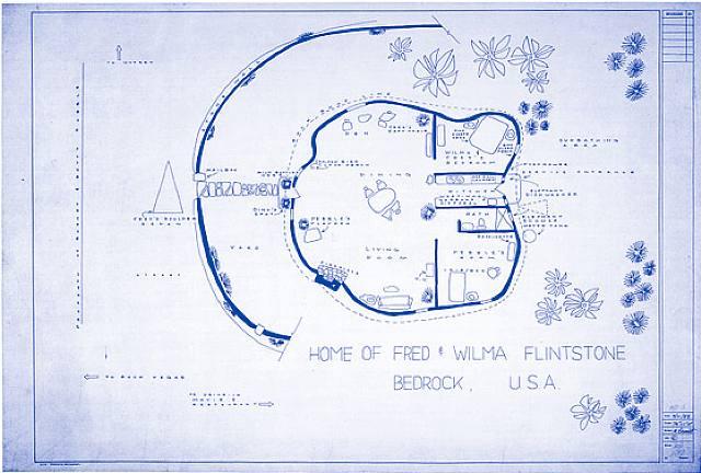 Fred Flintstone S Floorplans The Blueprints Of Mark