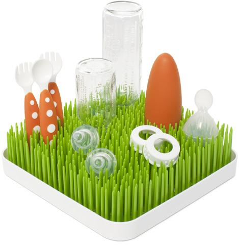 Two Great Boon Baby Products: Grass and Stash