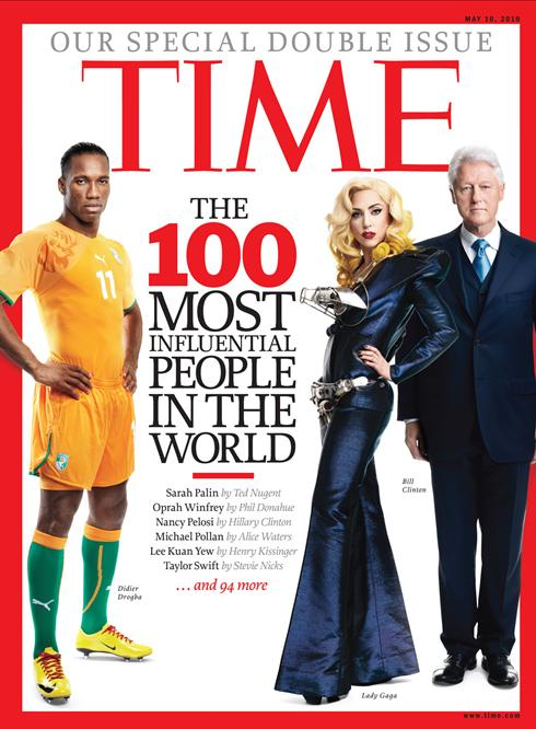 The 2010 TIME 100 World's Most Influential People List
