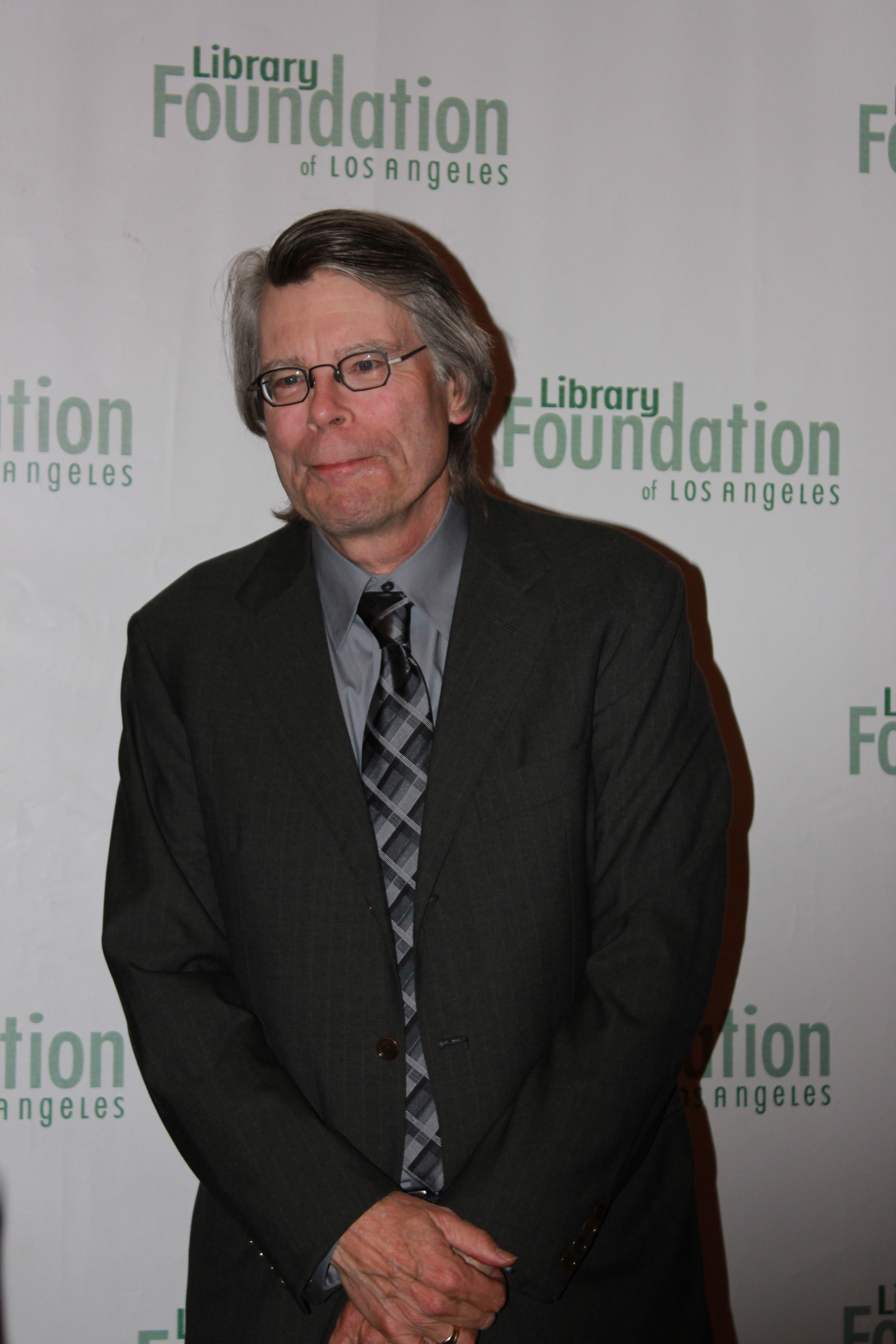 Stephen king presented literary award at the 15th annual los angeles at the cocktail party we had a small window to meet with my favorite author i asked him about his future books the dark tower sequel and dr sleep the m4hsunfo