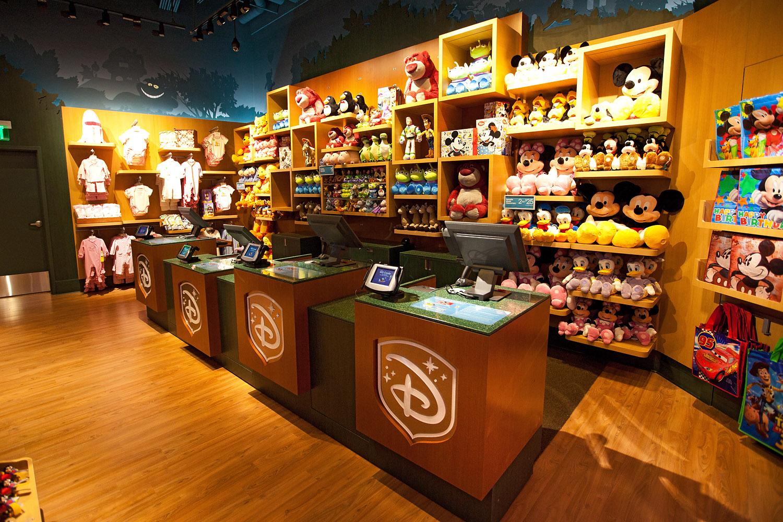 Disney Store Celebrates Grand Opening Of New Store Design