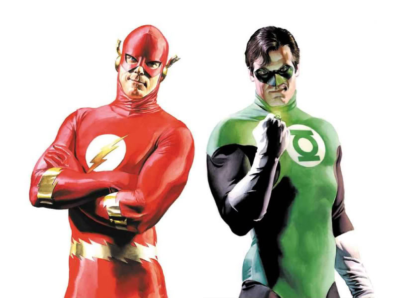 Writers Working On Green Lantern 2 And Flash Treatments