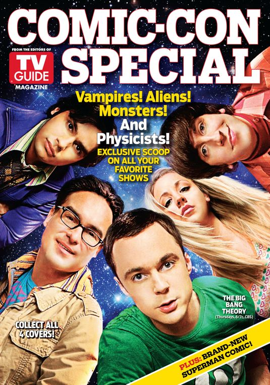 tv guide magazine s special comic con issue will feature 4 original covers. Black Bedroom Furniture Sets. Home Design Ideas