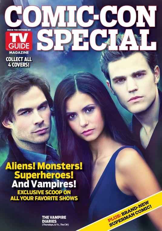 Tv Guide Magazine S Special Comic Con Issue Will Feature 4