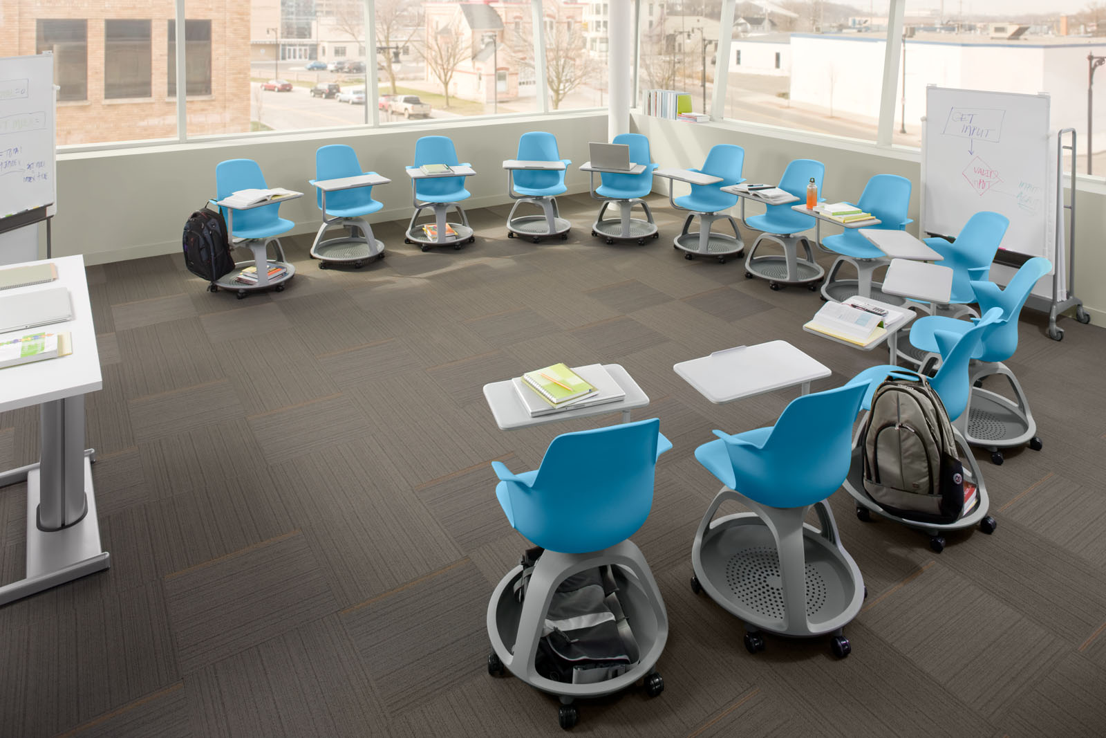 The Steelcase Node Desk