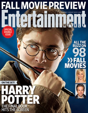 harry potter and the deathly hallows dvd cover art. Harry Potter star Daniel