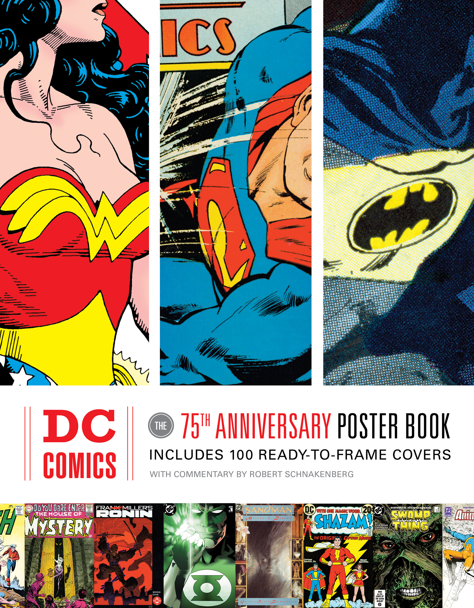 dc comics the 75th anniversary poster book. Black Bedroom Furniture Sets. Home Design Ideas