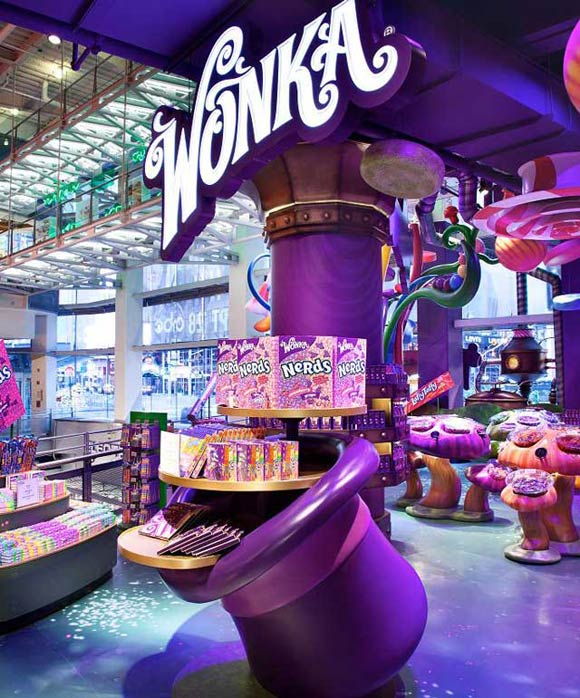 The Delicious World Of Wonka Comes To Toys R Us Times Square