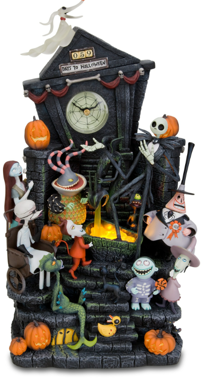 tim burtons the nightmare before christmas clock