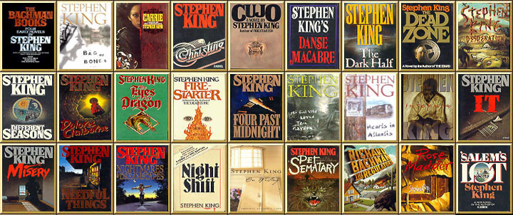 THE BACHMAN BOOKS by Stephen King, (NAL) Hardcover 1st/1st -- 4 Early Novels