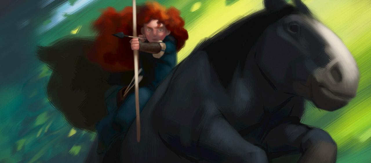 disney pixar brave. First Look At Pixar#39;s Brave
