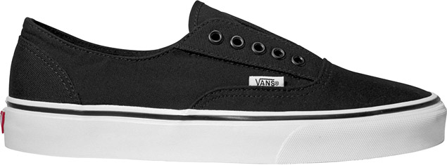 78f74fbb08758e all black vans no laces   Come and stroll!