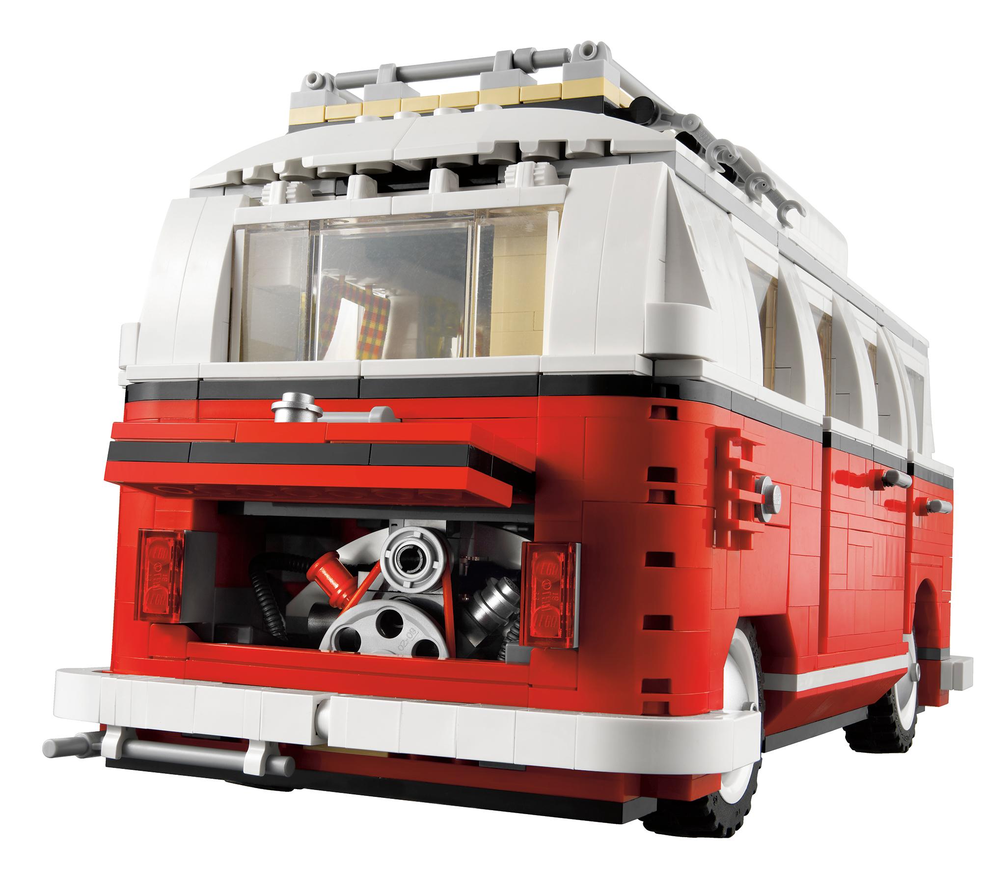 lego s 10220 volkswagen t1 camper van due in october 2011. Black Bedroom Furniture Sets. Home Design Ideas