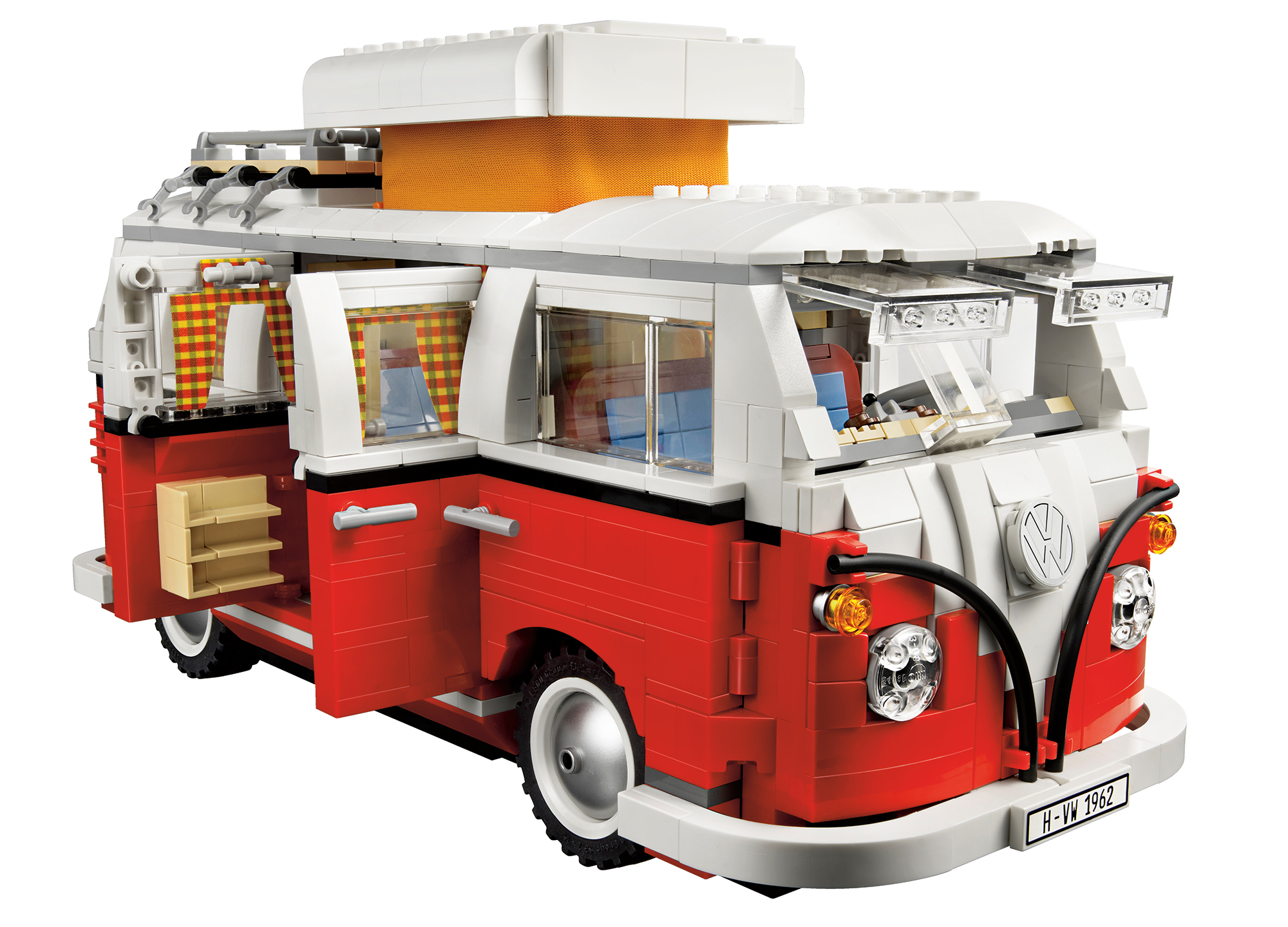 lego s 10220 volkswagen t1 camper van due in october 2011. Black Bedroom Furniture Sets. Home Design Ideas
