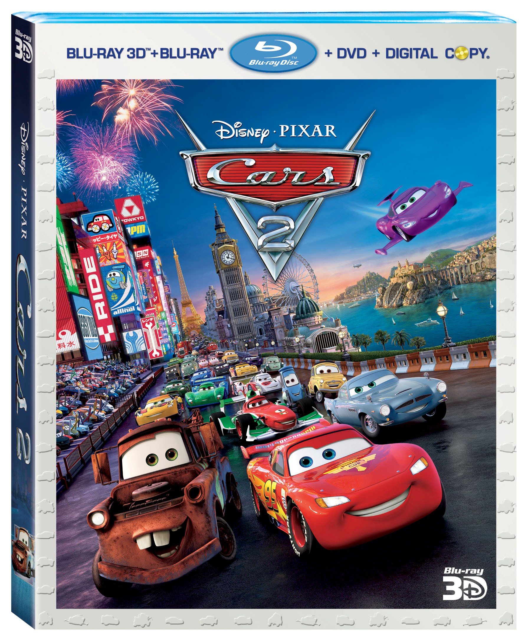 cars 2 to be released on november 1 2011 on blu ray combo pack blu ray 3d dvd movie download. Black Bedroom Furniture Sets. Home Design Ideas