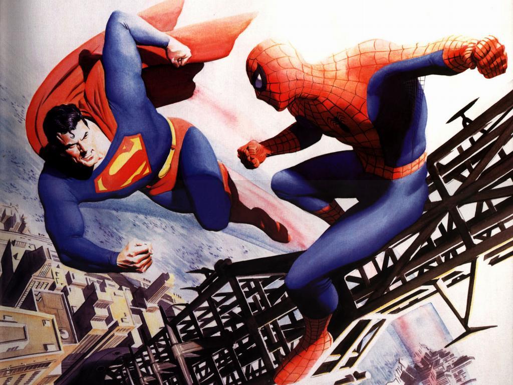 Heroes & Villains: The Comic Book Art of Alex Ross Exhibit ...
