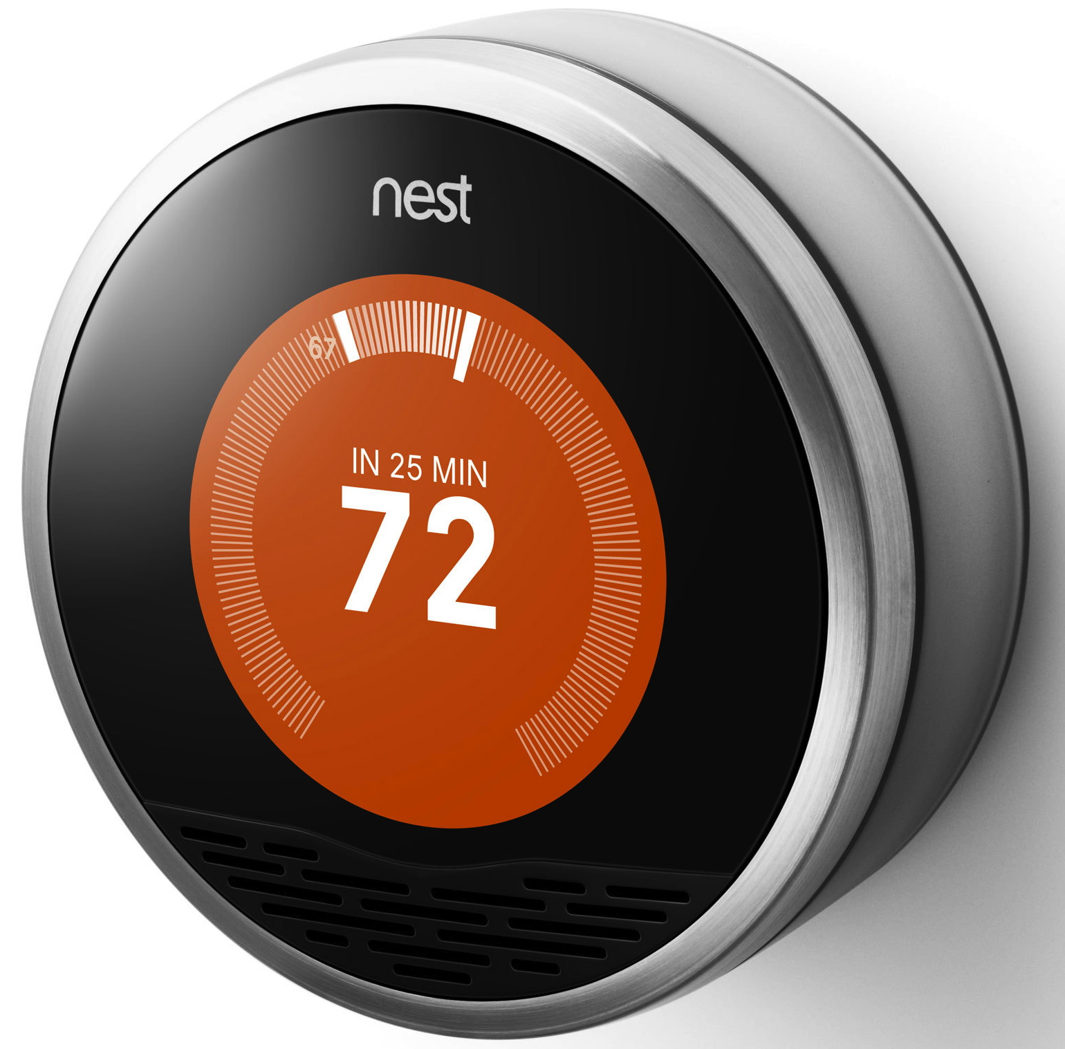 introducing the nest learning thermostat. Black Bedroom Furniture Sets. Home Design Ideas