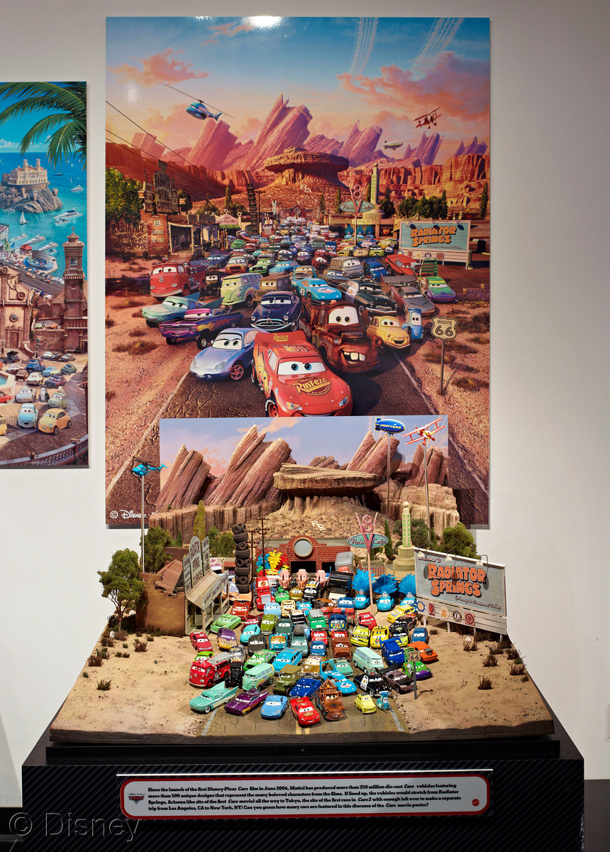 Cars  Diecast Poster