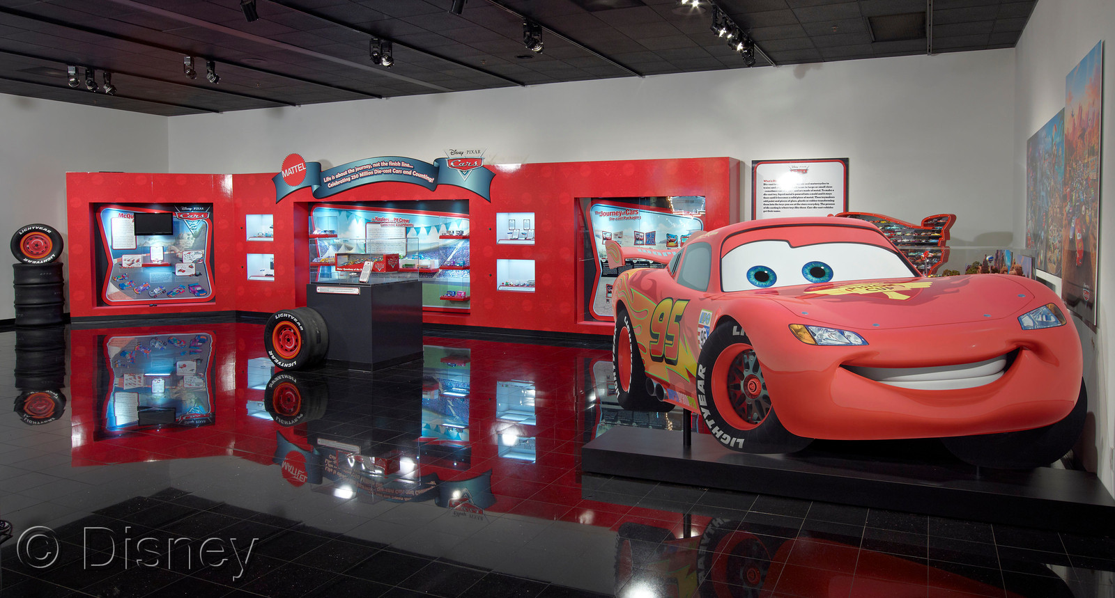 Mattel Exhibit Featuring Disney Pixar Cars Die-cast Vehicles ...