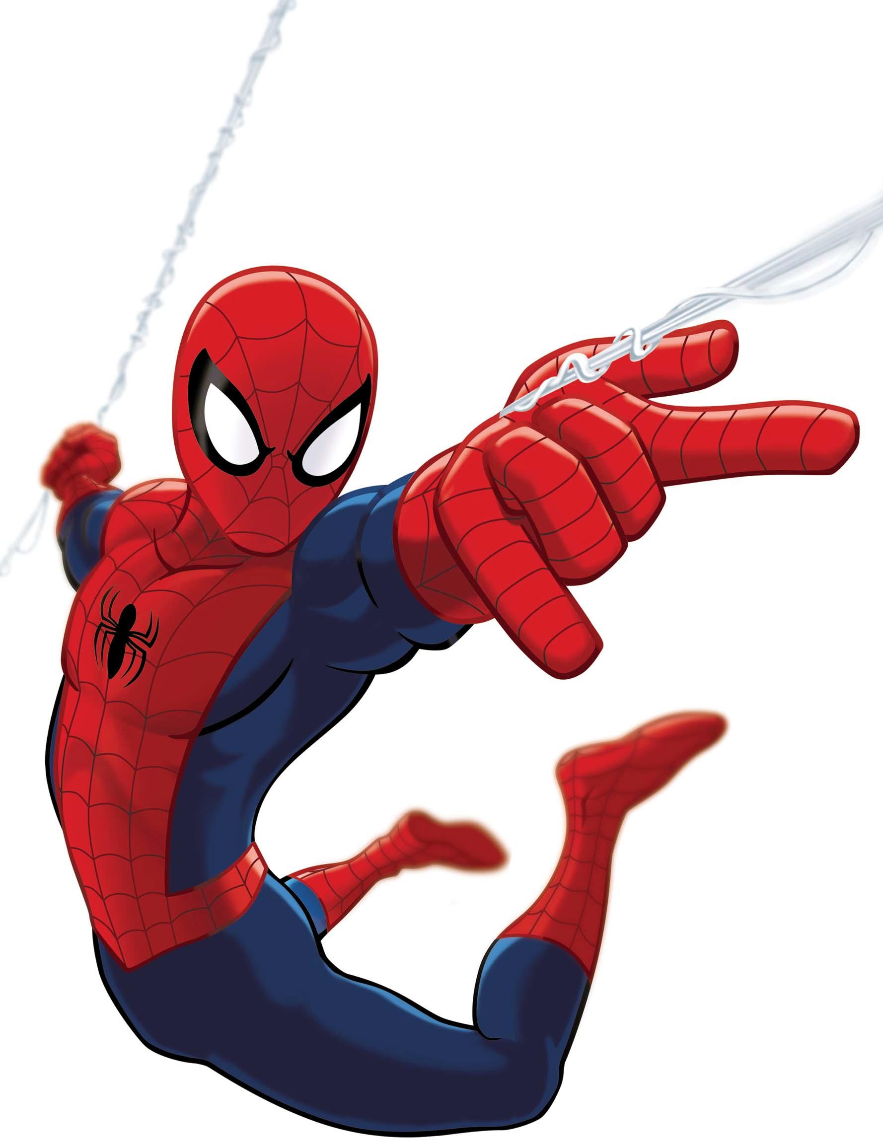 Spiderman cartoon standing - photo#22