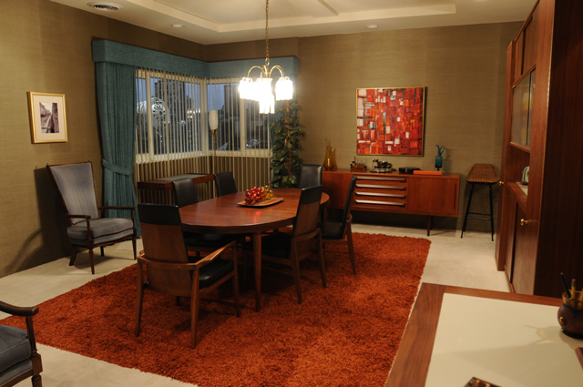 The 1960s Era Manhattan Apartment Of Mad Men S Don Draper