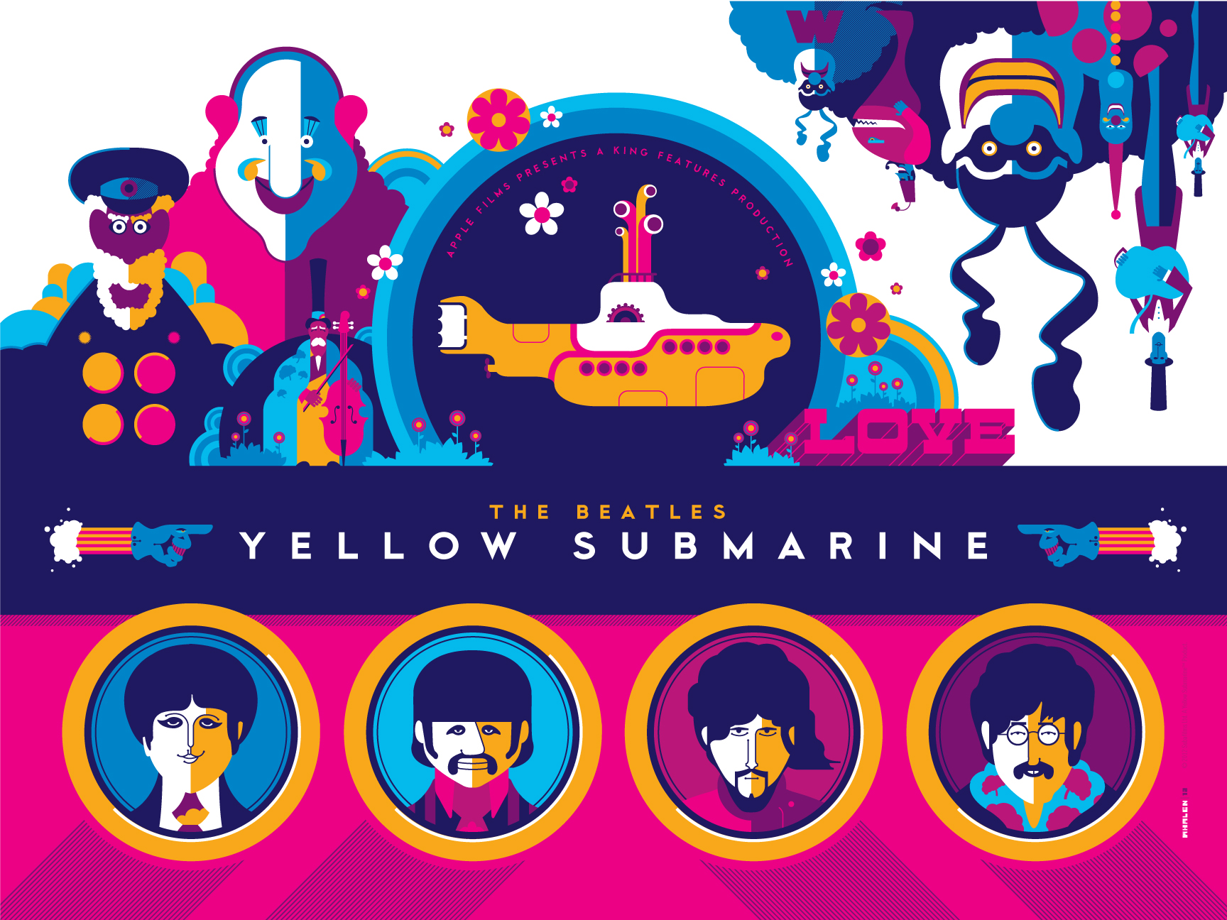 Dark Hall Mansion To Release The Beatles Yellow Submarine ...