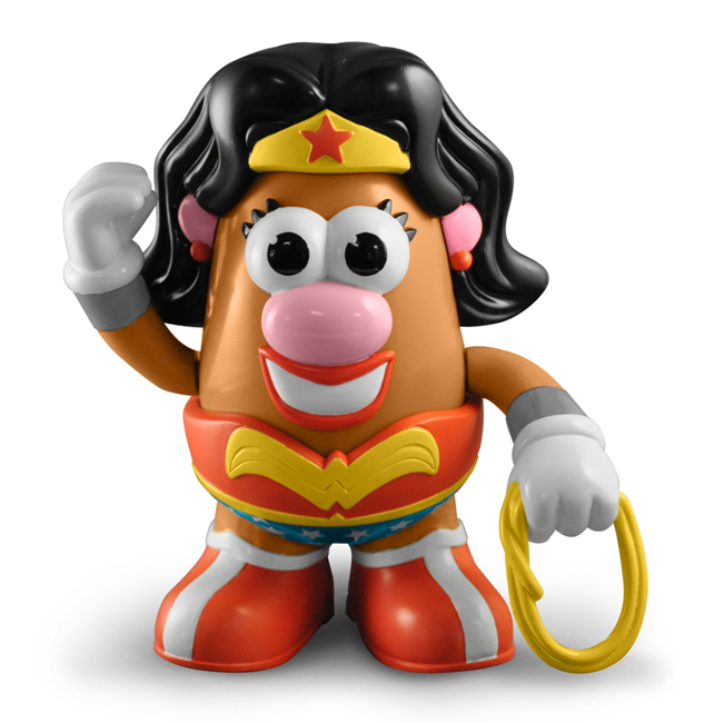 Introducing superman mr potato head wonder woman mrs - Madame patate toy story ...
