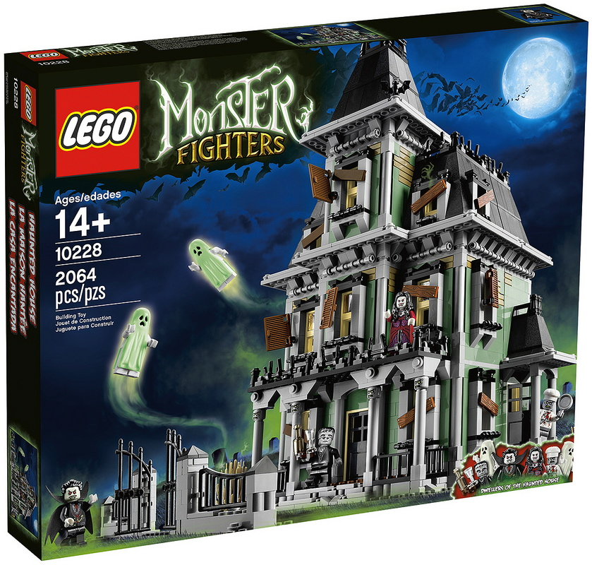 LEGO Announces Amazingly Detailed Haunted House Building