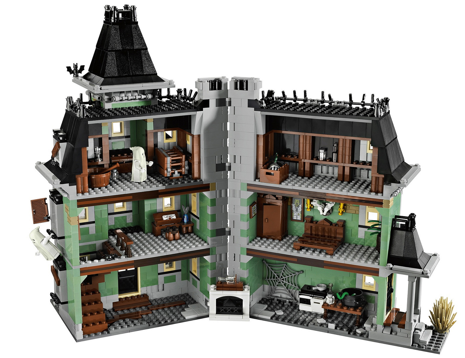 LEGO Announces Amazingly Detailed Haunted House Building