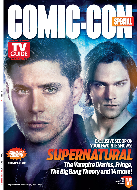 First Look Tv Guide Magazine S 2012 Comic Con Special
