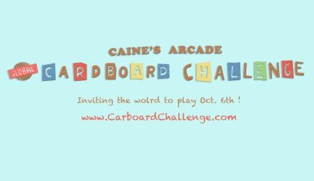 cane's arcade cardboard challenge