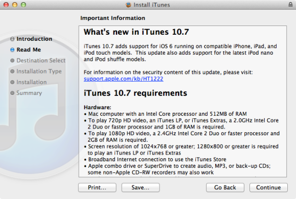 iTunes 10 7 Now Available Via Download  