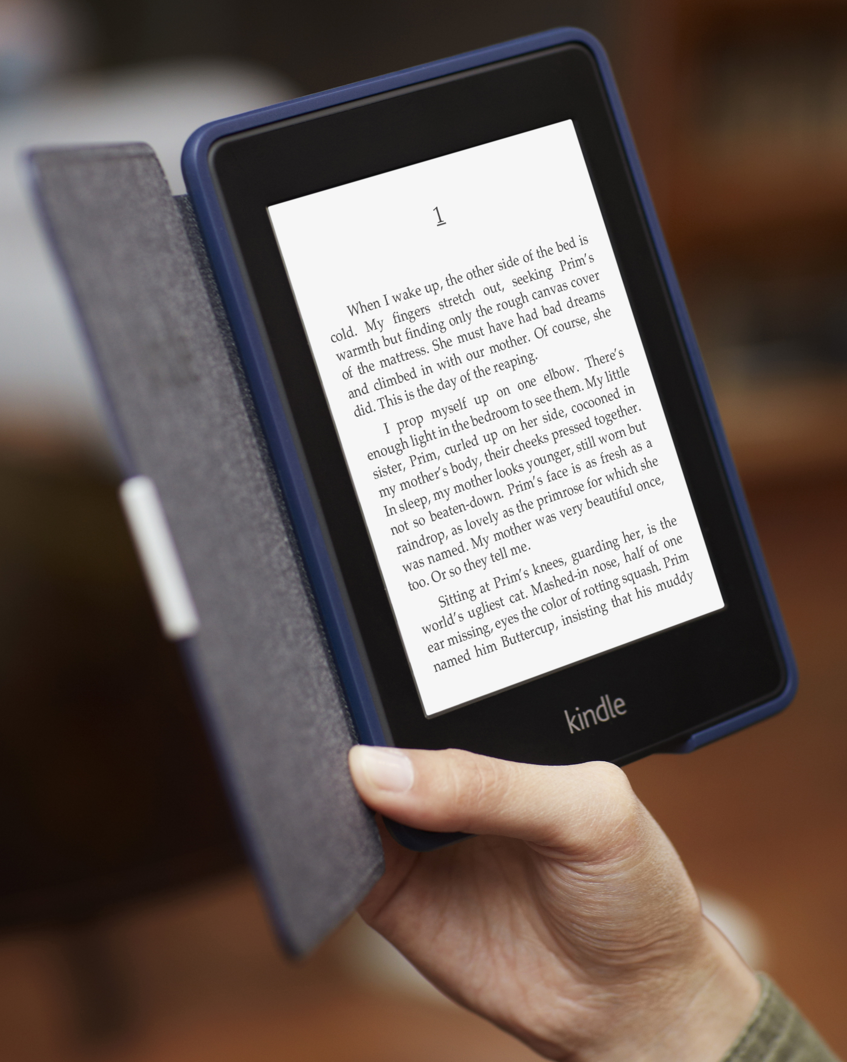 Amazon Unveils Kindle Paperwhite With Front-Lit Display