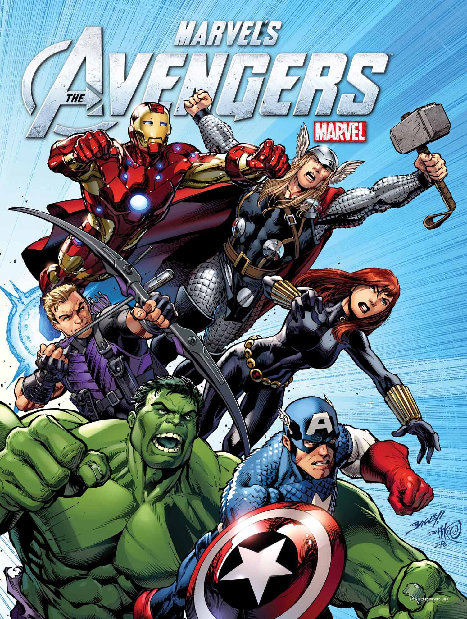 The Avengers: The Avengers DVD/Blu-ray Posters Revealed
