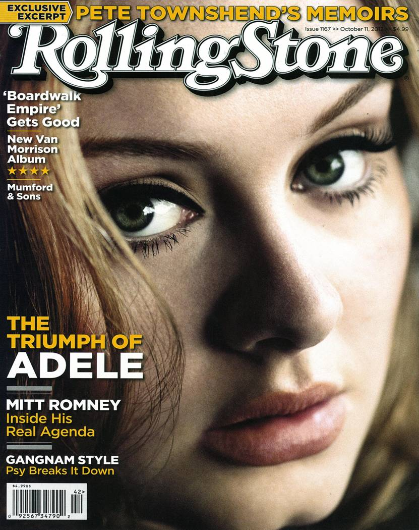New Rolling Stone Magazine Cover Story: Adele And The Making of '21' |